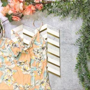 MINKPINK Palm Springs Midi Double Slit Dress